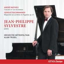 Andre Mathieu (1929-1968): Klavierkonzert Nr.4, CD