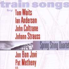 Spring String Quartet - Train Songs, CD