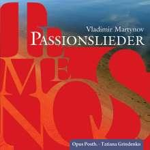 Vladimir Martynov (geb. 1946): Temenos-Passionslieder, CD