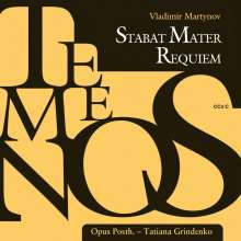 Vladimir Martynov (geb. 1946): Requiem, CD