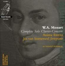 Wolfgang Amadeus Mozart (1756-1791): 21 Klavierkonzerte, 10 CDs