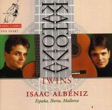 Isaac Albeniz (1860-1909): Werke für Gitarrenduo, CD