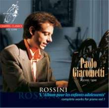 Gioacchino Rossini (1792-1868): Klavierwerke Vol.1, CD