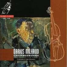 Darius Milhaud (1892-1974): Klavierquartett op.417, CD