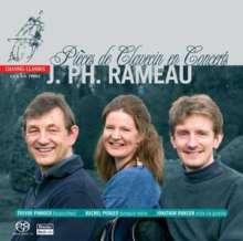 Jean Philippe Rameau (1683-1764): Pieces de Clavecin en Concerts Nr.1-5, Super Audio CD