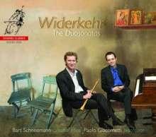 Jacques Christian Michel Widerkehr (1759-1823): Oboensonaten Nr.1-3, Super Audio CD