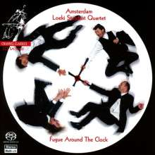 Amsterdam Loeki Stardust Quartet - Fugue Around the Clock, SACD
