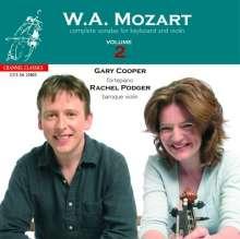 Wolfgang Amadeus Mozart (1756-1791): Sämtliche Sonaten für Violine & Hammerklavier Vol.2, Super Audio CD