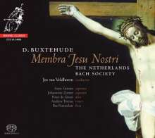 """Dieterich Buxtehude (1637-1707): Kantate """"Membra Jesu Nostri"""" BuxWV 75, Super Audio CD"""
