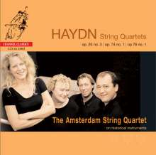 Joseph Haydn (1732-1809): Streichquartette Vol.1, SACD