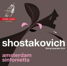 Dmitri Schostakowitsch (1906-1975): Streichquartette Nr.2 & 4, SACD
