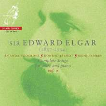 Edward Elgar (1857-1934): Sämtliche Lieder für Stimme & Klavier Vol.2, SACD