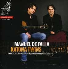 Manuel de Falla (1876-1946): Transkriptionen für 2 Gitarren, Super Audio CD