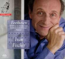 Ludwig van Beethoven (1770-1827): Symphonien Nr.4 & 6, SACD