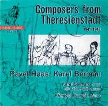 Karel Berman (geb. 1919): Suite für Klavier solo, 1939-1945, CD