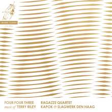 Terry Riley (geb. 1935): Four Four Three, CD