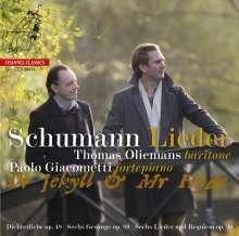 """Robert Schumann (1810-1856): Lieder """"Dr. Jekyll & Mr. Hyde"""", CD"""