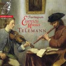 """Georg Philipp Telemann (1681-1767): """"Essercizii Musici"""" (Ausz.), 2 CDs"""