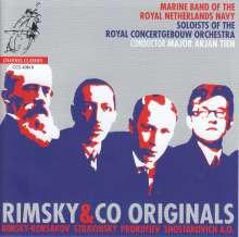 Marine Band of the Royal Netherlands Navy - Rimksy & Co Originals, CD