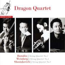 Dragon Quartet - Borodin / Weinberg / Shostakovich, CD