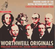 Marine Band of the Royal Netherlands Navy - Worthweill Originals, CD