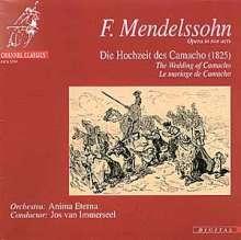 Felix Mendelssohn Bartholdy (1809-1847): Die Hochzeit des Camacho op.10, 2 CDs