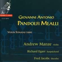 Giovanni Antonio Pandolfi Mealli (1629-1679): Violinsonaten, CD