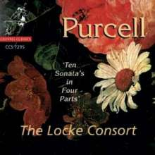 Henry Purcell (1659-1695): 10 Sonatas in 4 Parts, CD