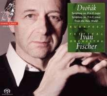 Antonin Dvorak (1841-1904): Symphonien Nr.8 & 9, SACD