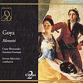 Gian-Carlo Menotti (1911-2007): Goya, 2 CDs