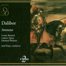 Bedrich Smetana (1824-1884): Dalibor (in dt.Spr.), 2 CDs