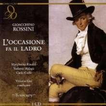 Gioacchino Rossini (1792-1868): L'Occasione fa il ladro, CD