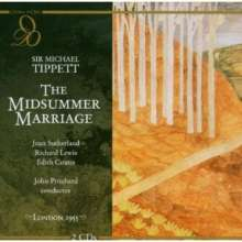 Michael Tippett (1905-1998): The Midsummer Marriage, 2 CDs