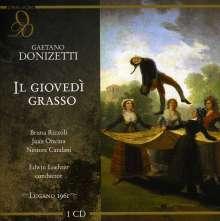 Gaetano Donizetti (1797-1848): Il Giovedi Grasso, CD
