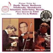 Gilels - Kogan - Rostropovich, 5 CDs