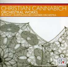 Johann Christian Cannabich (1731-1798): Symphonien in D & G, CD