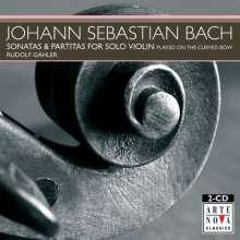 Johann Sebastian Bach (1685-1750): Sonaten & Partiten für Violine BWV 1001-1006, CD