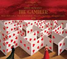 Serge Prokofieff (1891-1953): Der Spieler op.24 (Oper nach Dostojewsky), 2 CDs