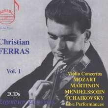 Christian Ferras - Legendary Treasures Vol.1, 2 CDs