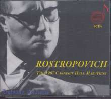 Mstislav Rostropovich  - The 1967 Carnegie Hall Marathon, 6 CDs