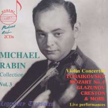 Michael Rabin  - Legendary Treasures Vol.3, 2 CDs