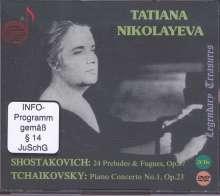 Tatiana Nikolayeva - Legendary Treasures Vol.1, 2 CDs und 1 DVD