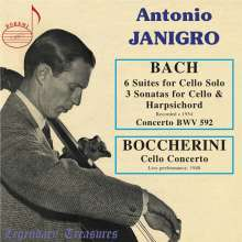 Antonio Janigro - Legendary Treasures, 3 CDs