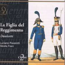 Gaetano Donizetti (1797-1848): La Fille du Regiment, 2 CDs