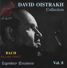David Oistrach - Legendary Treasures Vol.8, CD