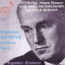 Svjatoslav Richter - Legendary Treasures Vol.6, CD