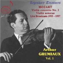 Arthur Grumiaux - Legendary Treasures Vol.1, CD
