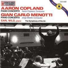 Aaron Copland (1900-1990): Klavierkonzert, CD