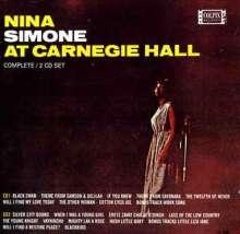 Nina Simone (1933-2003): Nina Simone At Carnegie Hall 1963, 2 CDs