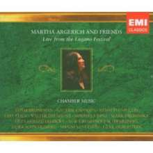 Martha Argerich & Friends - Live from Lugano Festival, 3 CDs